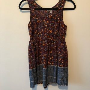 Urban Outfitters Ecote Blouson Dress Open Back